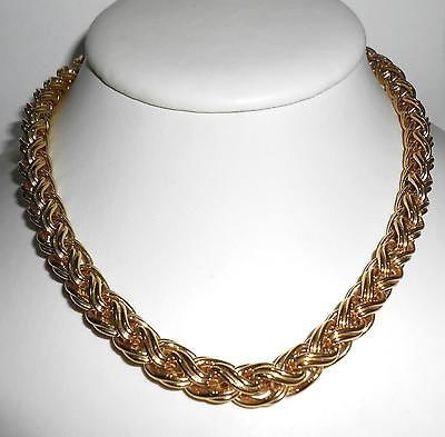 Big Chunky Vintage 18 Inch Napier Necklace W Hangtag No Wear Condition