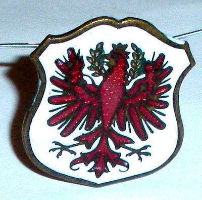 Antique Vintage Art Deco Enamel Greek Order Of The Phoenix Fraternal Mens Pin