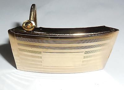 Vintage Art Deco 12k Gold Filled Mens Womens Belt Buckle No Monogram