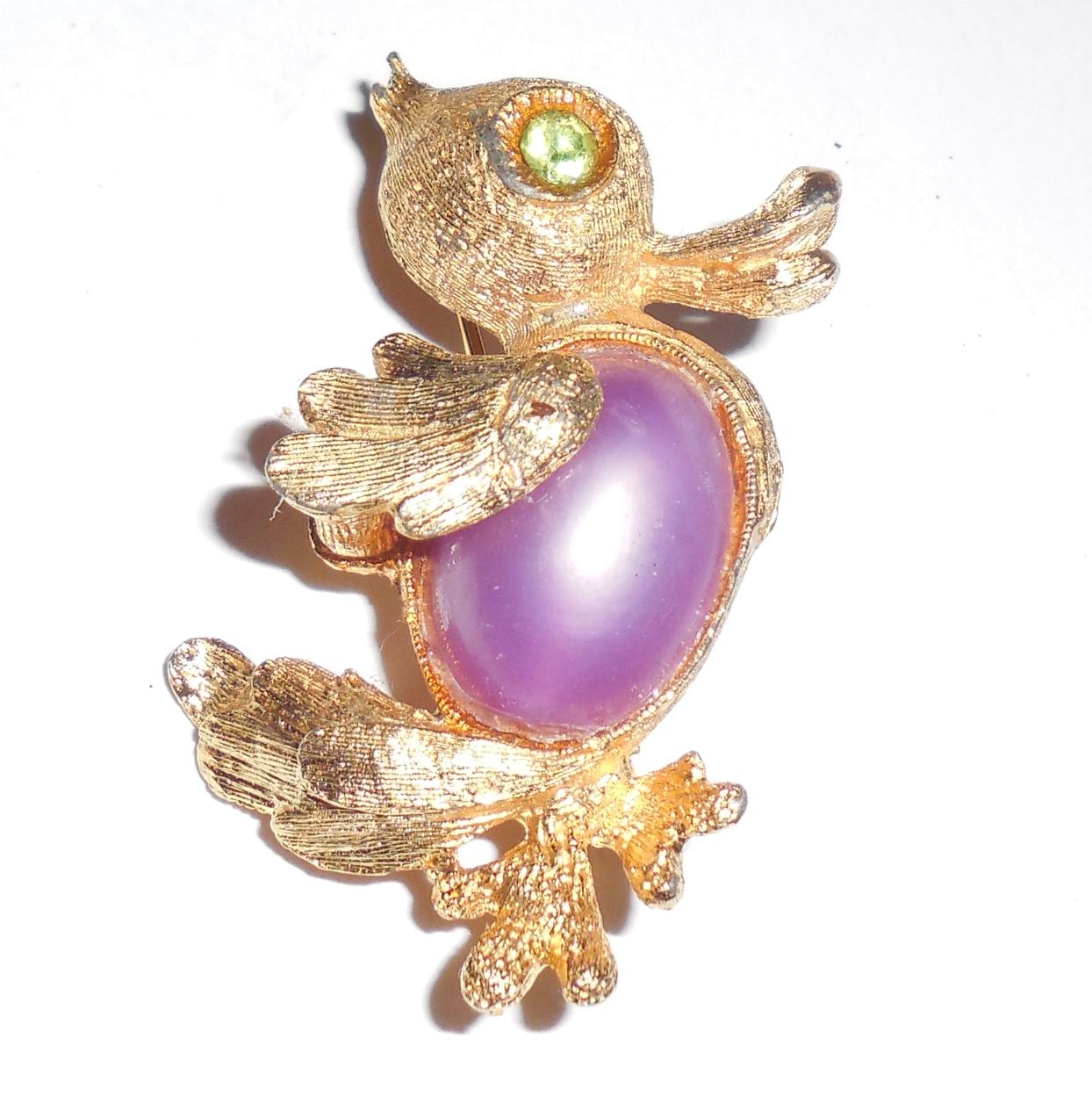 Vintage DODDS 11 W 30 ST INC Jelly Belly Duck Pin